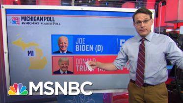 Steve Kornacki: Biden Gains White Voters In The Midwest | Ayman Mohyeldin | MSNBC 6