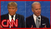 Debate moderator Chris Wallace asks President Donald Trump: 'What is your health care plan?' 2