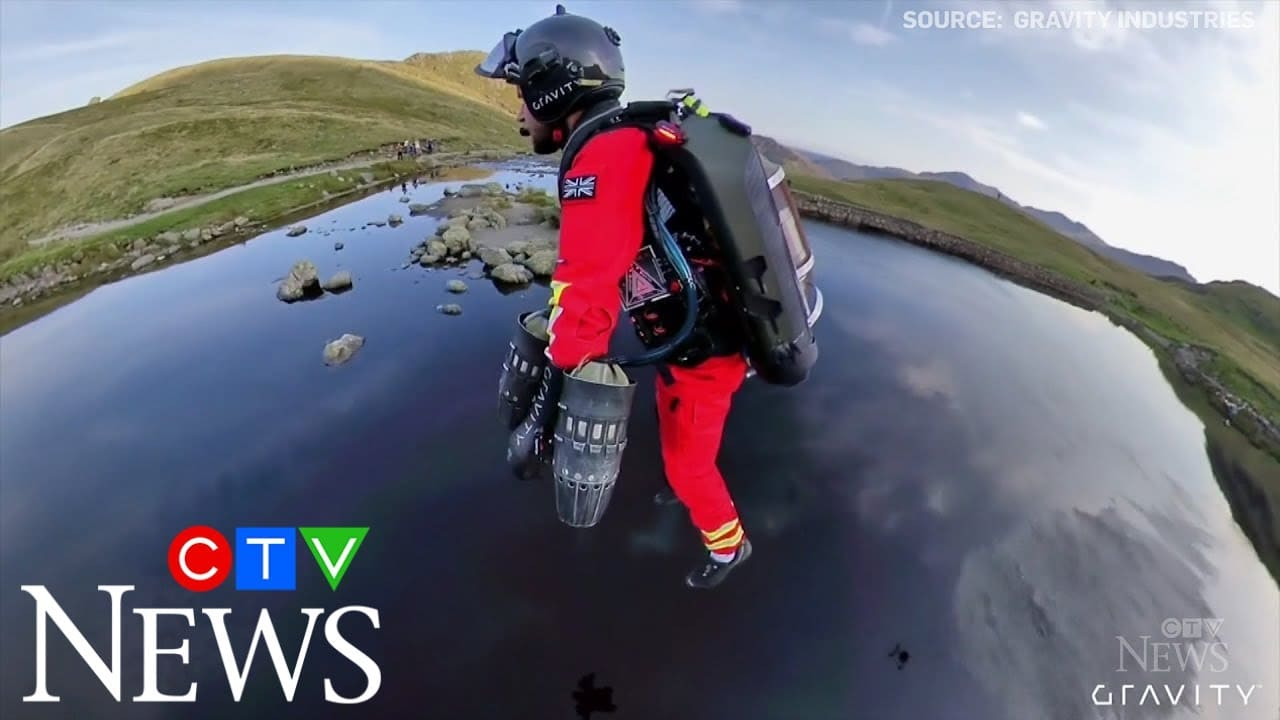 """""""Iron Man"""" jet suit tested for mountain emergency response 1"""
