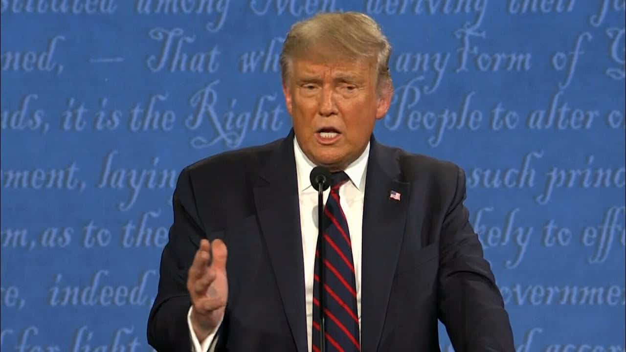 """""""Don't ever use the word smart with me"""": Trump lashes out at Biden during the debate 8"""