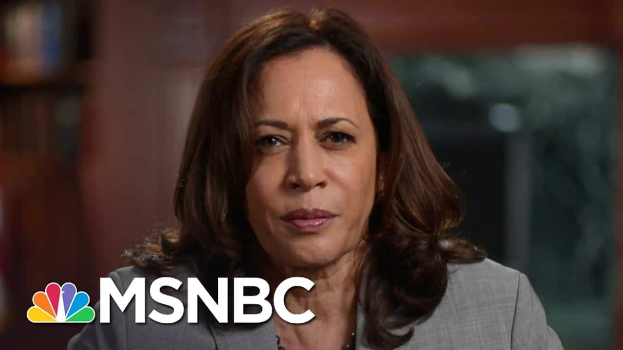 Sen. Harris On Trump's Tax Avoidance: It's Just Completely, Patently Unfair   The Last Word   MSNBC 6