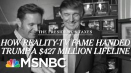 NYT Report Shows 'The Apprentice' Helped Boost Trump's Finances | Morning Joe | MSNBC 5