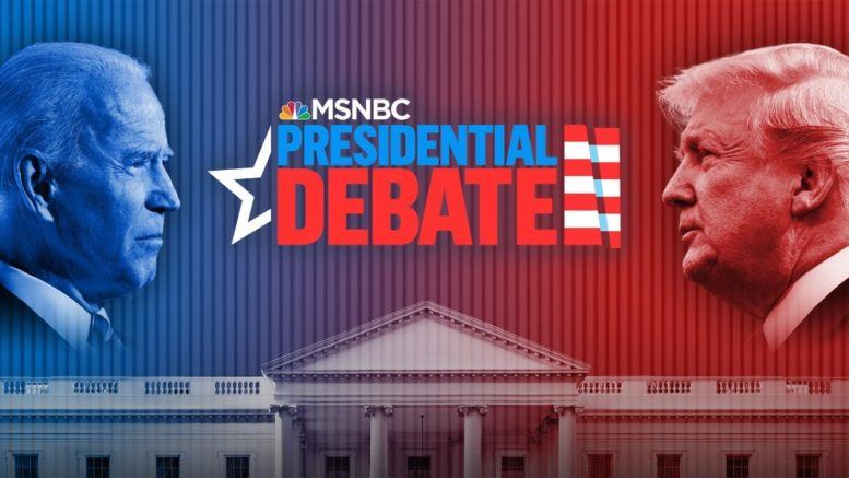 Watch: First Presidential Debate Of The 2020 Election | MSNBC 1