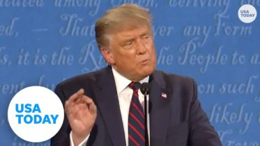 Trump and Biden argue on COVID-19 at first presidential debate | USA TODAY 6