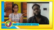 Damion Gordon Discuss the PNP Leadership Race - September 28 2020 2