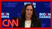 Hear Kamala Harris' reaction to Trump and Biden's chaotic debate 5