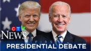 Watch the full presidential debate between Donald Trump and Joe Biden 2