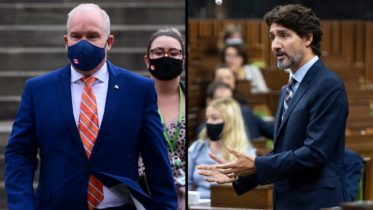 Justin Trudeau welcomes Erin O'Toole back to the House of Commons after COVID-19 scare 6