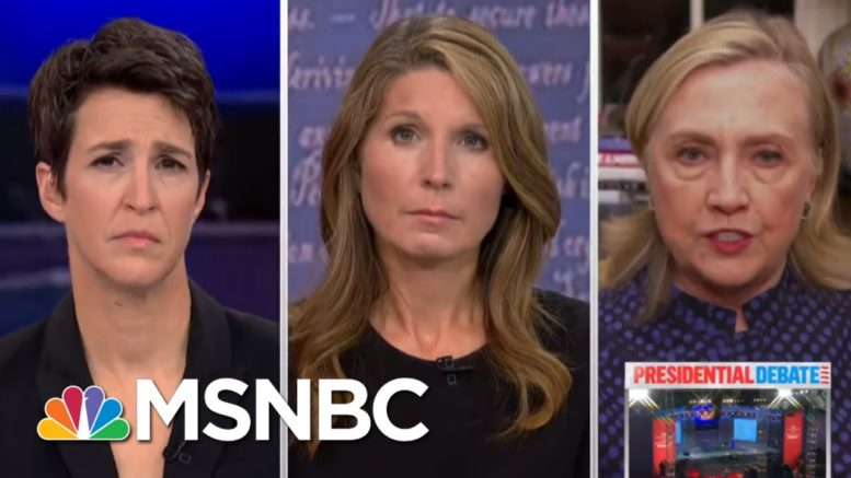 'Trump Is A Clear And Present Danger' To U.S. National Security: Clinton | Rachel Maddow | MSNBC 1