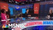 Trump Destroys Another American Civic Institution With Debate Performance | Rachel Maddow | MSNBC 4
