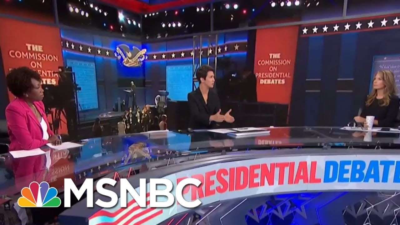Trump Destroys Another American Civic Institution With Debate Performance | Rachel Maddow | MSNBC 1
