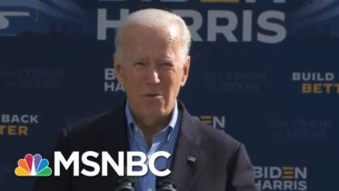 Joe Biden: President Donald Trump 'Lies To You' And 'Looks Down On Us' | MSNBC 6