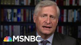 If It Was A Dumpster Fire, It Was One Trump Set: Jon Meacham On The debate | Stephanie Ruhle | MSNBC 3