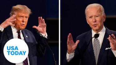 Presidential Debate recap: no winners declared in either Trump or Biden| USA TODAY 6