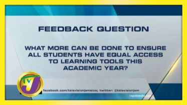 TVJ News: Feedback Question - September 29 2020 6
