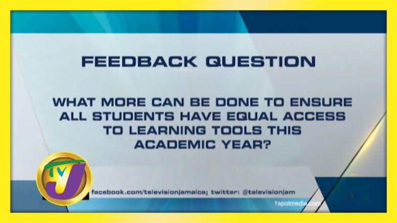 TVJ News: Feedback Question - September 29 2020 1