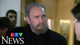 March 4, 2003: Fidel Castro answers questions from media in Vancouver 2