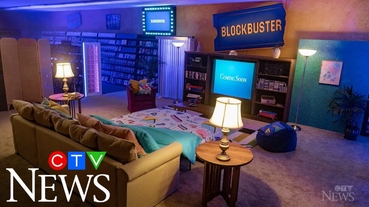 World's last Blockbuster store turned into Airbnb rental 5