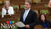 On his last day as Tory leader in the House of Commons, Scheer calls out PM Trudeau's absence 2