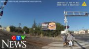 Caught on cam: Man in wheelchair saved from oncoming train 5