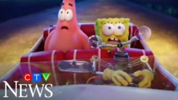 "Stars of ""The SpongeBob Movie: Sponge on the Run"" Tom Kenny and Bill Fagerbakke 1"