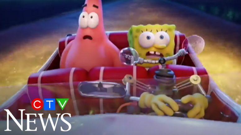 "Stars of ""The SpongeBob Movie: Sponge on the Run"" Tom Kenny and Bill Fagerbakke 1"