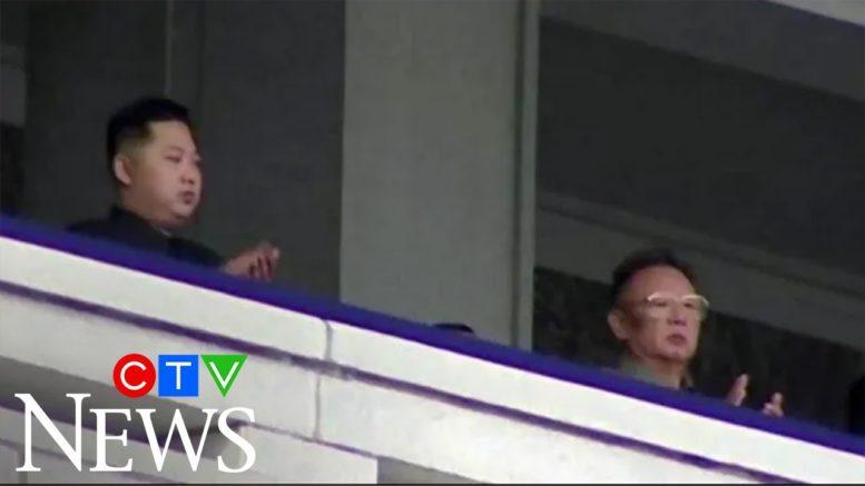 Oct 10, 2010: Kim Jong Un's national debut at Pyongyang military parade 1