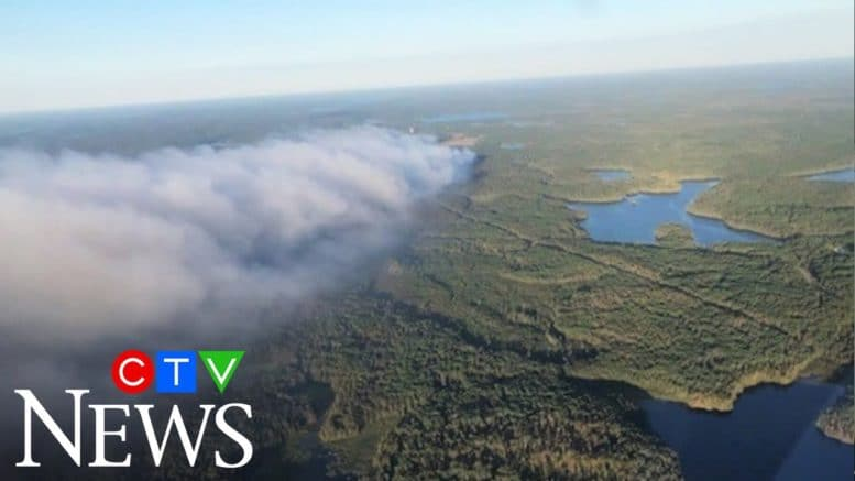 Significant rainfall a 'game changer' in Ontario Red Lake wildfire 1