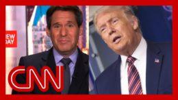 'Um, wow': Trump's briefing remarks stun John Berman 9
