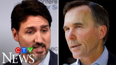 Did a dispute with Trudeau lead to Morneau's sudden resignation? 6
