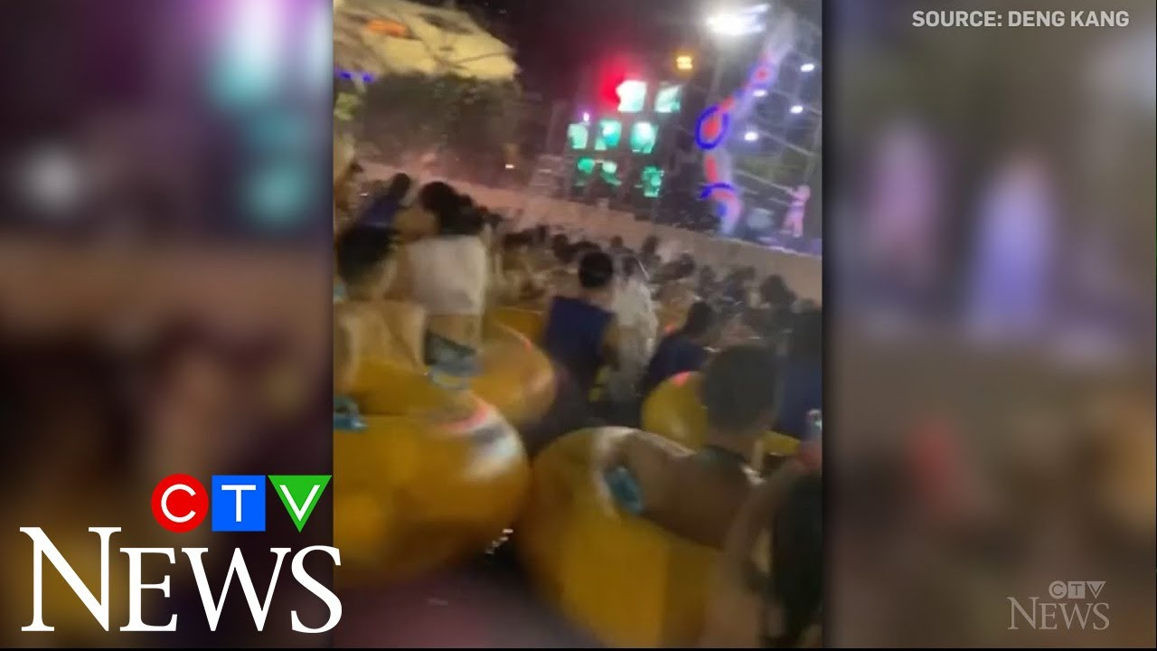 COVID-19 pandemic: Wuhan water park hosts crowded parties 7