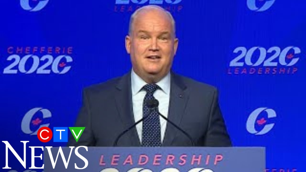"""""""I will not let you down"""": Erin O'Toole named new leader of the Conservative party 1"""