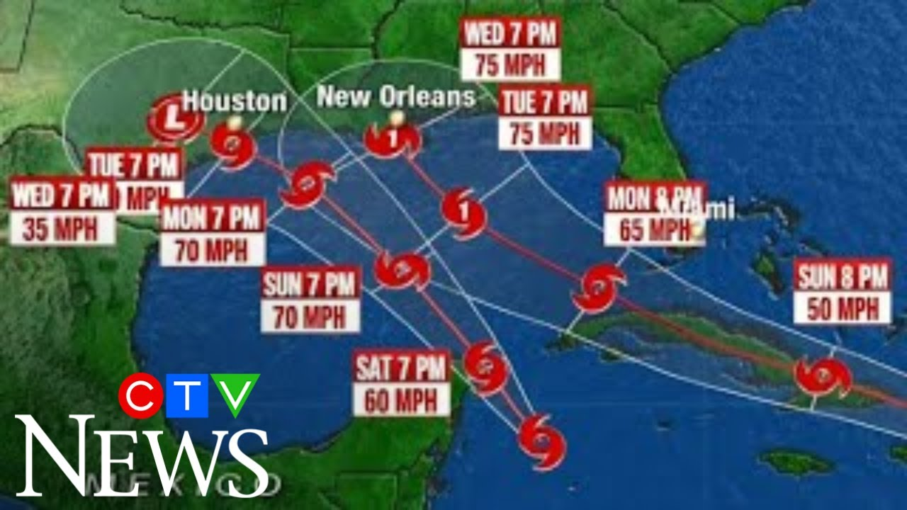 """""""The bigger threat is going to be Laura"""": A pair of tropical storms are bearing down on U.S. coast 1"""