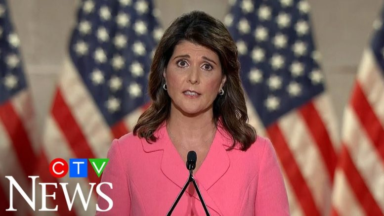 Nikki Haley: It's a lie to say that the United States is racist 1