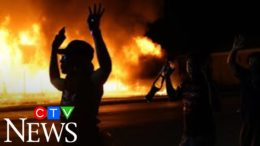 Car fires and tear gas: Protesters and police clash in Kenosha, Wisc., for a second night. 9