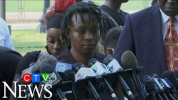 The sister of Jacob Blake makes a powerful statement on his shooting 8