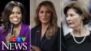 How does Melania Trump compare to former U.S. first ladies? 3