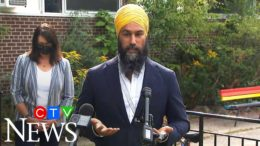 NDP Leader Singh on whether or not he'll force an election 5