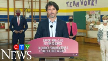 COVID-19: Trudeau questioned about rolling out new funding for schools 6