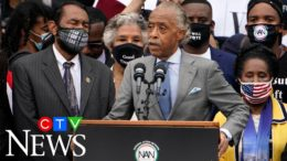 'We'll never let America forget': Sharpton calls for reform, leads civil rights march on Washington 7