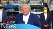 COVID-19 pandemic: Ontario Premier Ford losing patience with teachers' unions over return to school 3