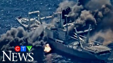 Watch this decommissioned U.S. Navy ship get blown up during a military training exercise 6