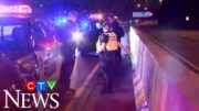 12-year-old boy goes for two-hour joyride on Toronto highway 4