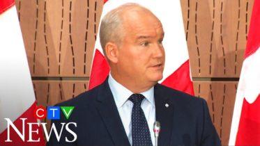 Conservative Leader O'Toole announces leadership team 6
