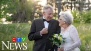 Couple marks 60th anniversary with original outfits 4