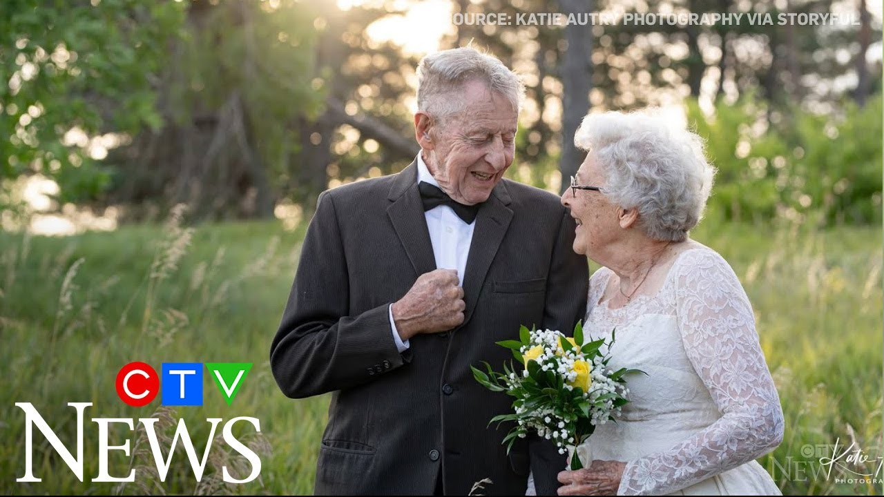 Couple marks 60th anniversary with original outfits 8