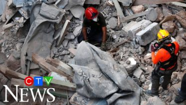 Rescuers may have found signs of life in Beirut blast rubble 6