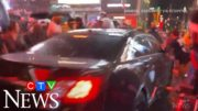 Caught on cam: Vehicle drives into crowd during NYC protest 3