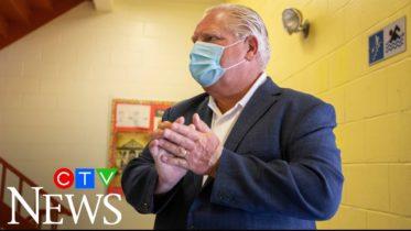 """Premier Doug Ford: """"It's a privilege to come into Canada, it's a privilege to be here in Ontario."""" 6"""
