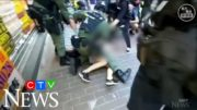 12-year-old girl tackled by police during Hong Kong protest 4